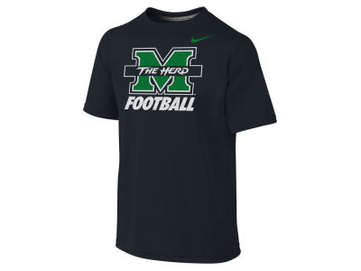 Marshall Thundering Herd NCAA Youth Dri-Fit Legend Logo T-Shirt