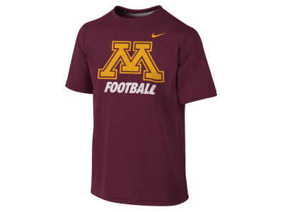 Minnesota Golden Gophers NCAA Youth Dri-Fit Legend Logo T-Shirt