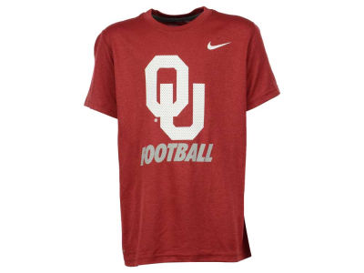 Oklahoma Sooners NCAA Youth Dri- Fit Legend Logo T-Shirt