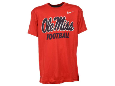 Ole Miss Rebels NCAA Youth Dri- Fit Legend Logo T-Shirt