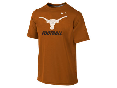 Texas Longhorns NCAA Youth Dri-Fit Legend Logo T-Shirt