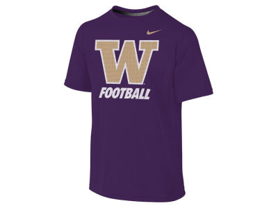 Washington Huskies NCAA Youth Dri-Fit Legend Logo T-Shirt