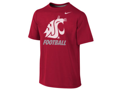 Washington State Cougars NCAA Youth Dri-Fit Legend Logo T-Shirt