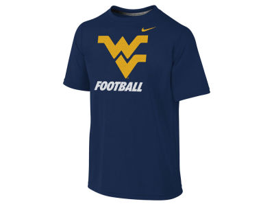West Virginia Mountaineers NCAA Youth Dri-Fit Legend Logo T-Shirt