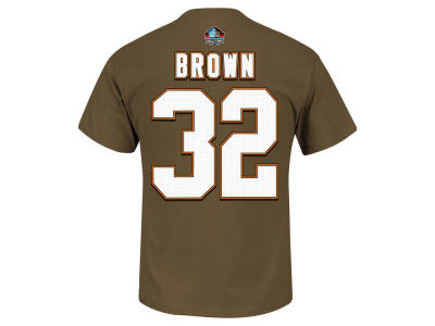 Cleveland Browns Jim Brown NFL Hall Of Fame Eligible Receiver T-Shirt