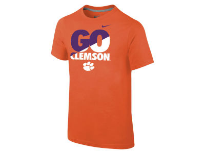 Clemson Tigers NCAA 2015 Youth Short Sleeve Cotton T-Shirt