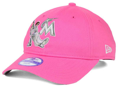 Miami Marlins Princess Leia New Era MLB Youth Star Wars 9TWENTY Cap