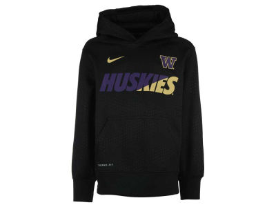 Washington Huskies Nike NCAA Youth KO Fleece Pullover Hoodie