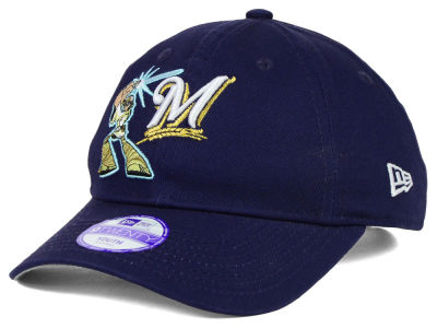 Milwaukee Brewers Luke Skywalker New Era MLB Youth Star Wars 9TWENTY Cap