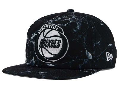 Houston Rockets New Era NBA HWC Marble Mix A-Frame Original Fit 9FIFTY Snapback Cap