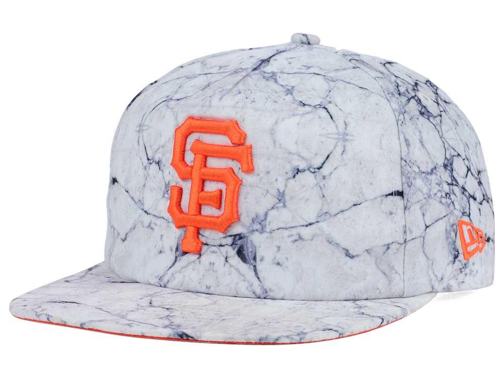 San Francisco Giants New Era MLB Marble Mix A-Frame Original Fit ...