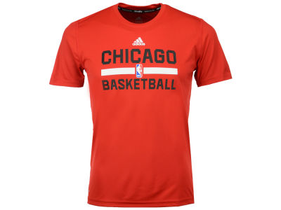 Chicago Bulls adidas NBA Youth Practice Wear Graphic T-Shirt