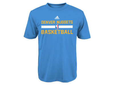 Denver Nuggets adidas NBA Youth Practice Wear Graphic T-Shirt