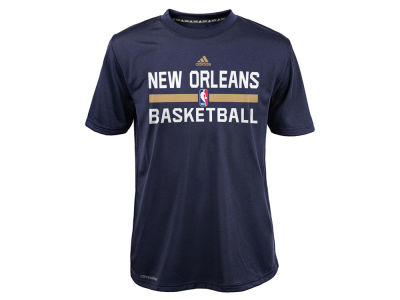 New Orleans Pelicans adidas NBA Youth Practice Wear Graphic T-Shirt