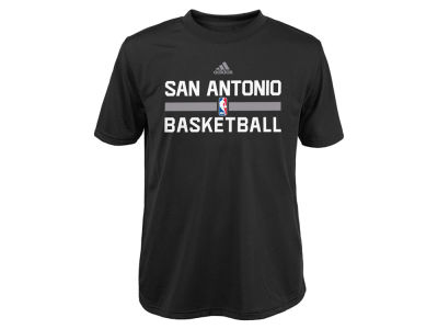San Antonio Spurs adidas NBA Youth Practice Wear Graphic T-Shirt