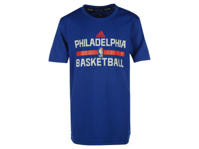 Philadelphia 76ers adidas NBA Youth Practice Wear Graphic T-Shirt