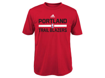 Portland Trail Blazers adidas NBA Youth Practice Wear Graphic T-Shirt