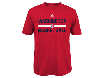 Washington Wizards adidas NBA Youth Practice Wear Graphic T-Shirt