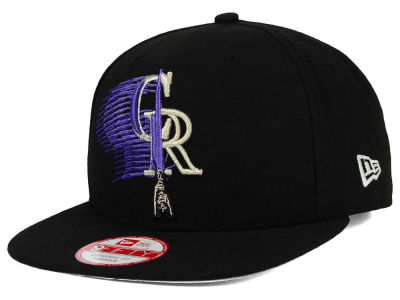 Colorado Rockies New Era SW X MLB Logoswipe 9FIFTY Original Fit Snapback Cap
