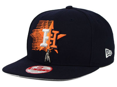 Houston Astros New Era SW X MLB Logoswipe 9FIFTY Original Fit Snapback Cap