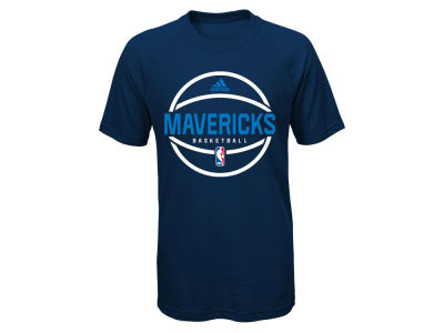 Dallas Mavericks adidas NBA Youth Practice Wear Ultimate T-Shirt