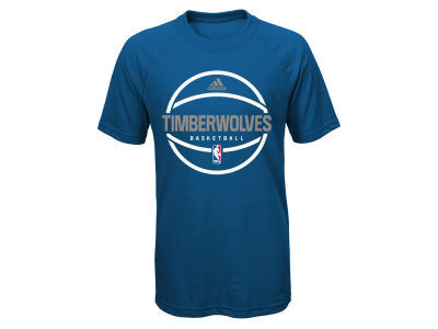 Minnesota Timberwolves NBA Youth Practice Wear Ultimate T-Shirt