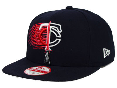 Minnesota Twins New Era SW X MLB Logoswipe 9FIFTY Original Fit Snapback Cap