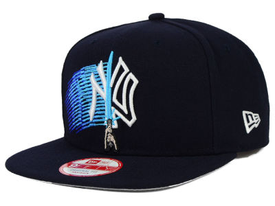New York Yankees New Era SW X MLB Logoswipe 9FIFTY Original Fit Snapback Cap