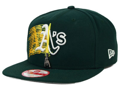 Oakland Athletics New Era SW X MLB Logoswipe 9FIFTY Original Fit Snapback Cap