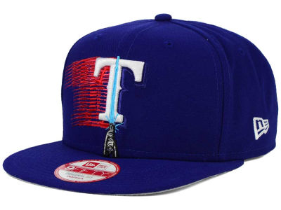 Texas Rangers New Era SW X MLB Logoswipe 9FIFTY Original Fit Snapback Cap