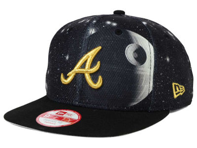 Atlanta Braves Death Star  New Era SW x MLB 9FIFTY Original Fit Snapback Cap