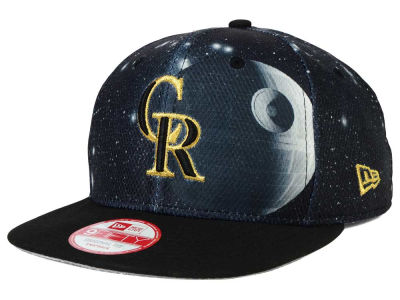 Colorado Rockies Death Star  New Era SW x MLB 9FIFTY Original Fit Snapback Cap
