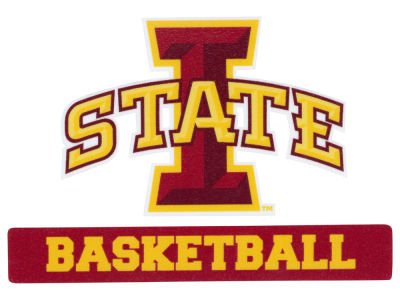 Iowa State Cyclones 4x5 Die Cut Decal
