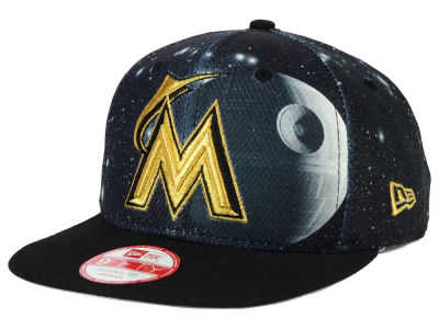 Miami Marlins Death Star  New Era SW x MLB 9FIFTY Original Fit Snapback Cap