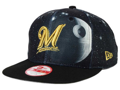 Milwaukee Brewers Death Star  New Era SW x MLB 9FIFTY Original Fit Snapback Cap