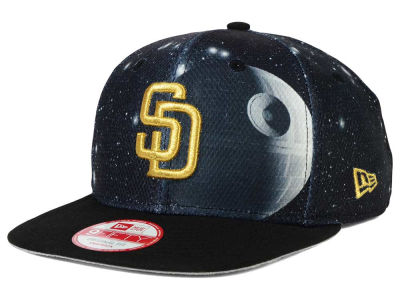 San Diego Padres Death Star  New Era SW x MLB 9FIFTY Original Fit Snapback Cap