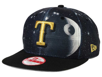 Texas Rangers Death Star  New Era SW x MLB 9FIFTY Original Fit Snapback Cap