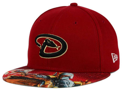 Arizona Diamondbacks New Era MLB x Star Wars Viza Print 59FIFTY Cap