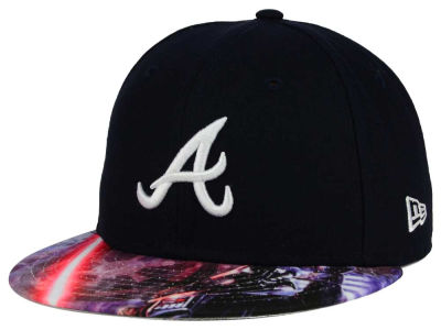 Atlanta Braves New Era MLB x Star Wars Viza Print 59FIFTY Cap