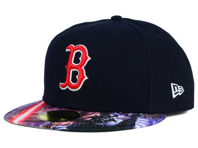 Boston Red Sox New Era MLB x Star Wars Viza Print 59FIFTY Cap