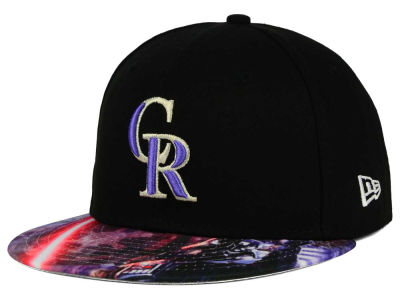 Colorado Rockies New Era MLB x Star Wars Viza Print 59FIFTY Cap