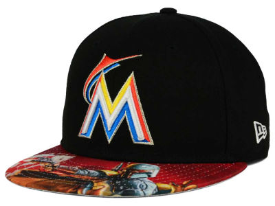 Miami Marlins New Era MLB x Star Wars Viza Print 59FIFTY Cap
