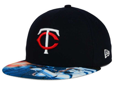 Minnesota Twins New Era MLB x Star Wars Viza Print 59FIFTY Cap