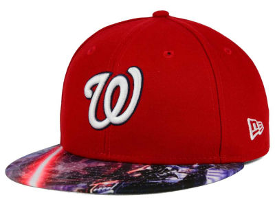 Washington Nationals New Era MLB x Star Wars Viza Print 59FIFTY Cap