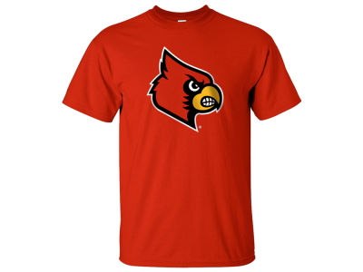 Louisville Cardinals 2 for $28 J America NCAA Men's Big Logo T-Shirt