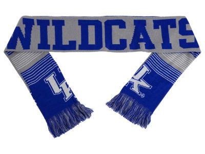Kentucky Wildcats Acrylic Knit Scarf Reversible Split Logo
