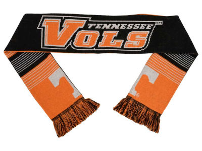 Tennessee Volunteers Acrylic Knit Scarf Reversible Split Logo
