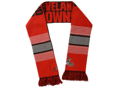 Cleveland Browns Acrylic Knit Scarf Reversible Split Logo
