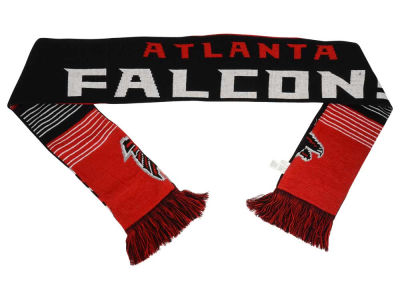 Atlanta Falcons Acrylic Knit Scarf Reversible Split Logo