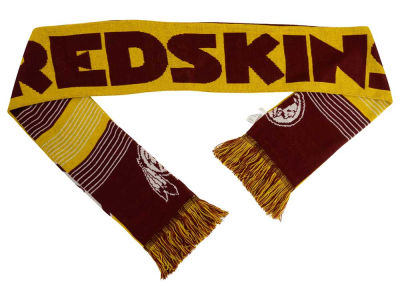Washington Redskins Acrylic Knit Scarf Reversible Split Logo